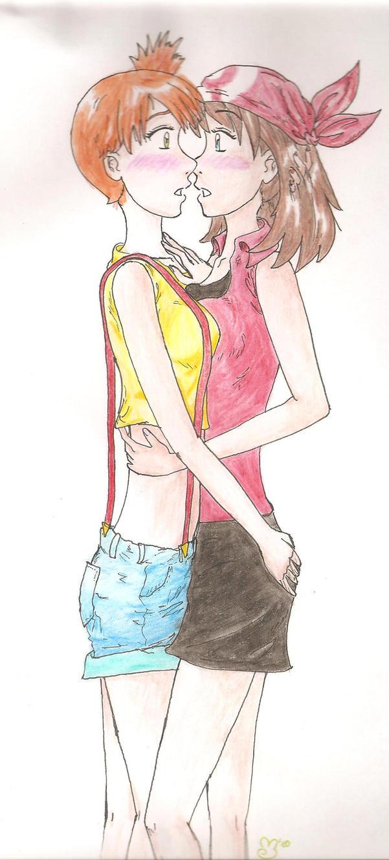 Misty y May yuri color by Marghie-Daijishin on DeviantArt