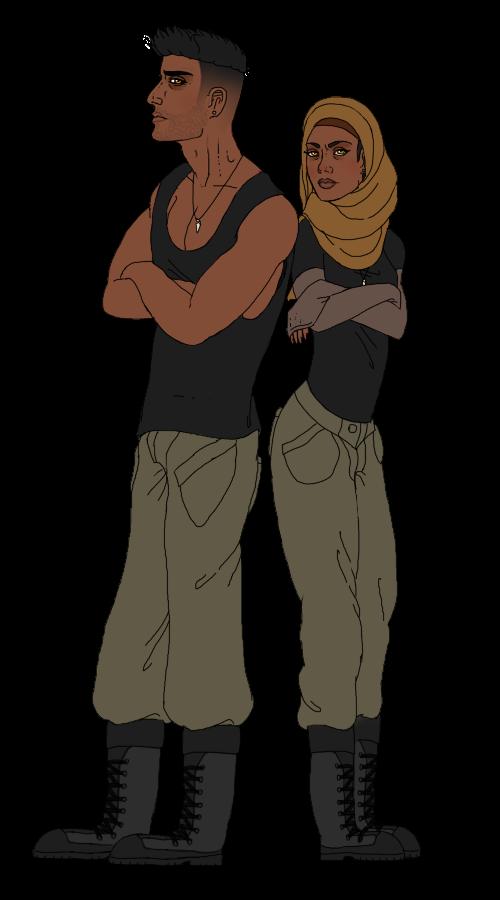 Isaiah: male vs. female version by KaiKenNatsuki