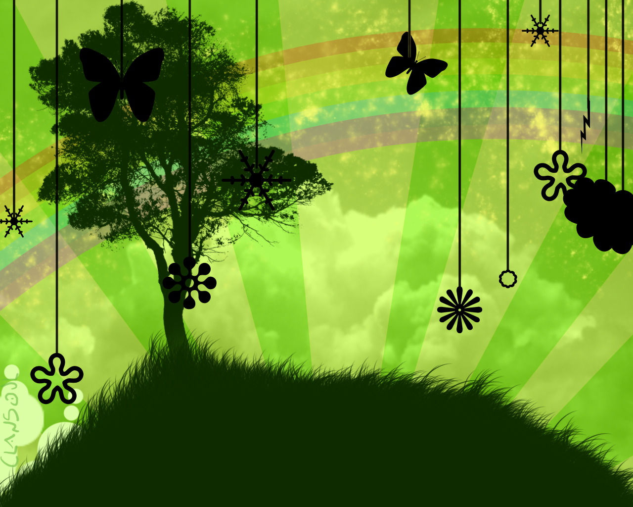 Green. by kaolincash