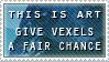 Vector-Vexel Art Stamp by kaolincash