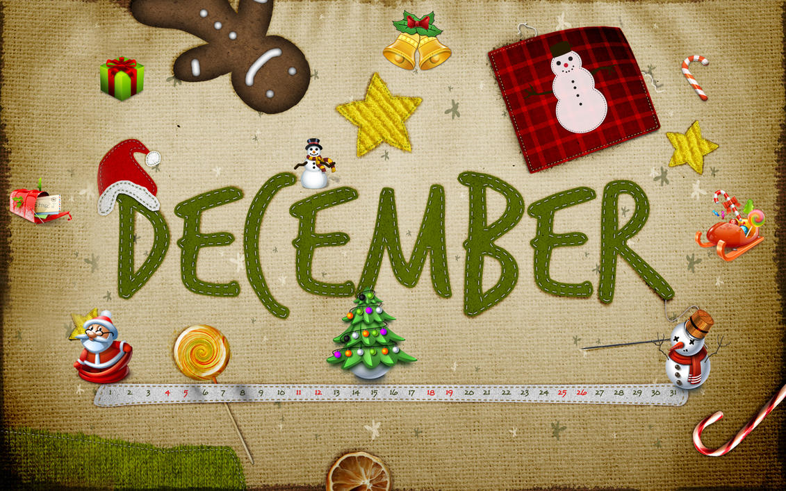 calendar Christmas by Cleodesktop