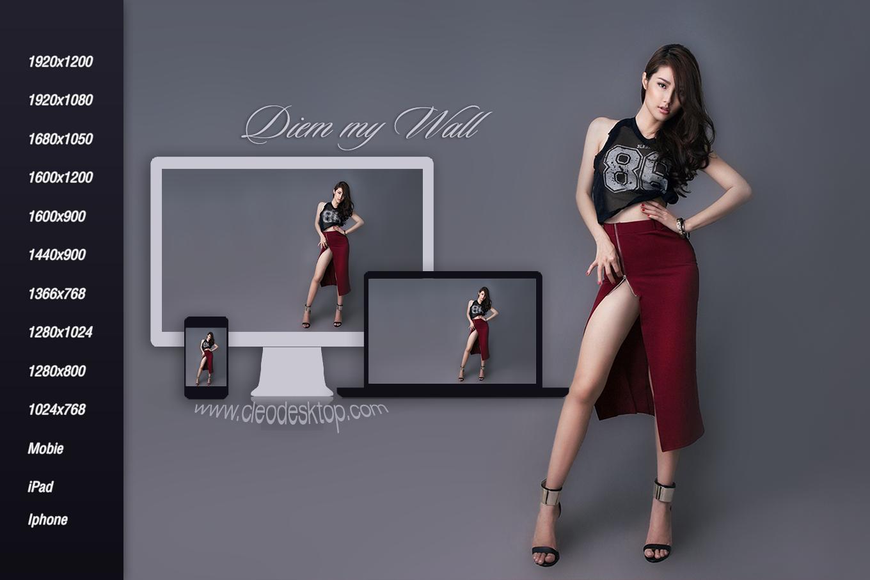 Diem My  Sexy Wallpaper by cu88