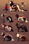 Kalani X Razi Puppies! THEY ARE HERE! by MischievousRaven
