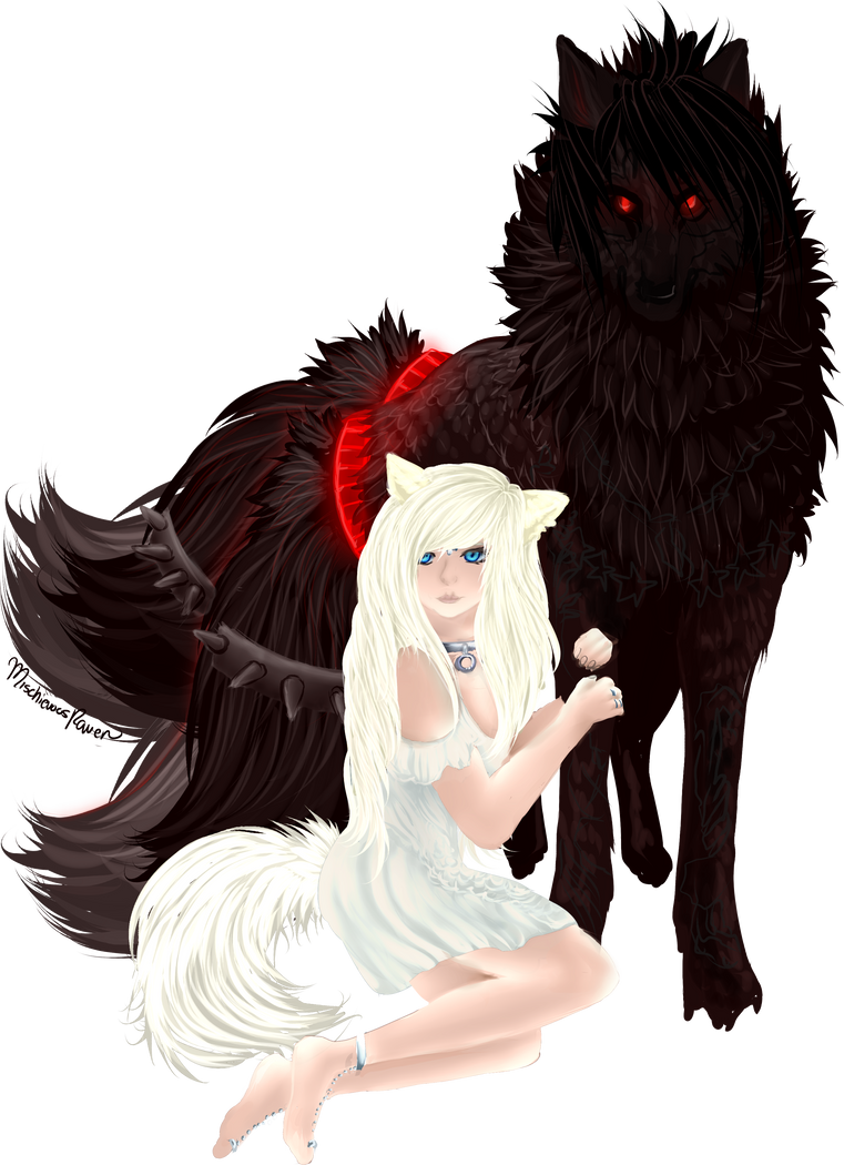 Comm: A Flower and Her Protector by MischievousRaven