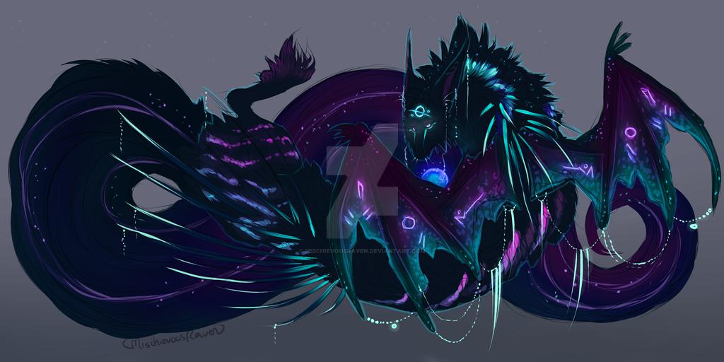 QuillDog Deity Design: Undead Curses by MischievousRaven