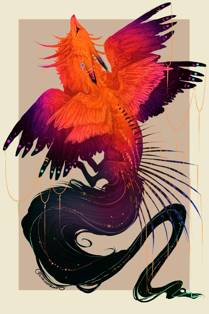 QuillDog: Flighted Queen of Paradise by MischievousRaven