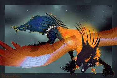 Mourning Flight by MischievousRaven