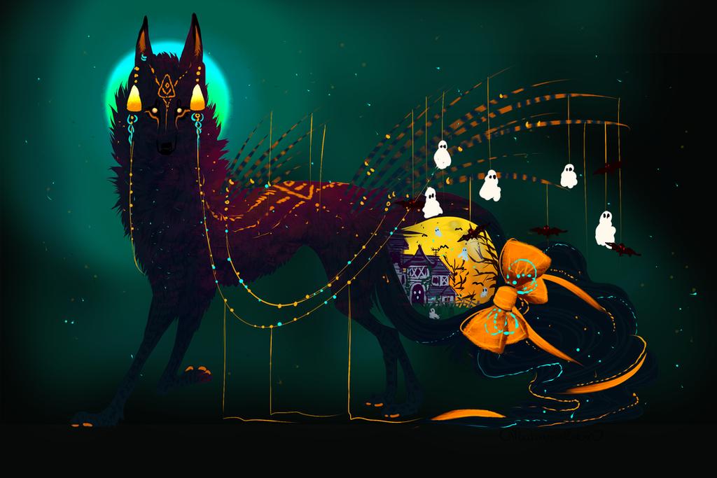 QuillDog-PhoeFox Hybrid RAFFLE! by MischievousRaven