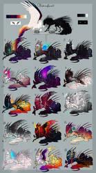 Lore X Beast Litter is HERE! by MischievousRaven