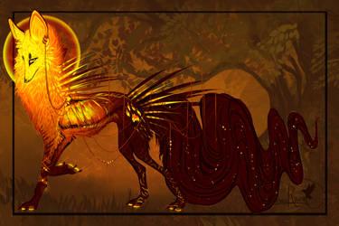 QuillDog Auction: African Sunrise Spirit