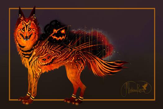 FREE RAFFLE! Cursed Dark Pumpkin QuillDog