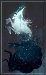 Shimmering to Darkness QD Deity by MischievousRaven
