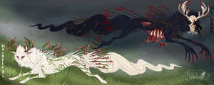 QuillDog Deity: Whimsical Horror