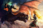 Eowyn and the nazgul 2