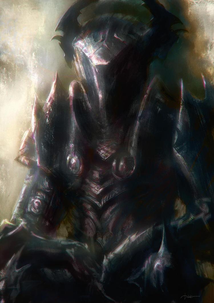 Ancient Evil Armor by moonxels