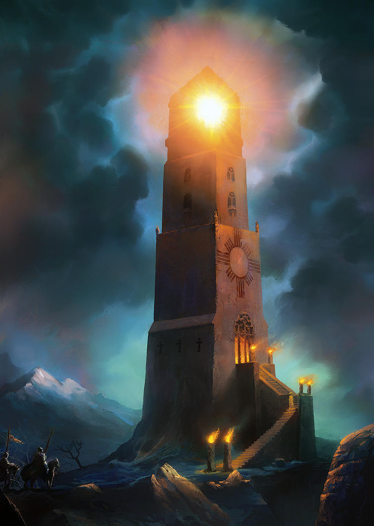 Holy Lighthouse by moonxels