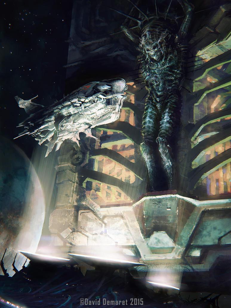 Alien Messiah by moonxels