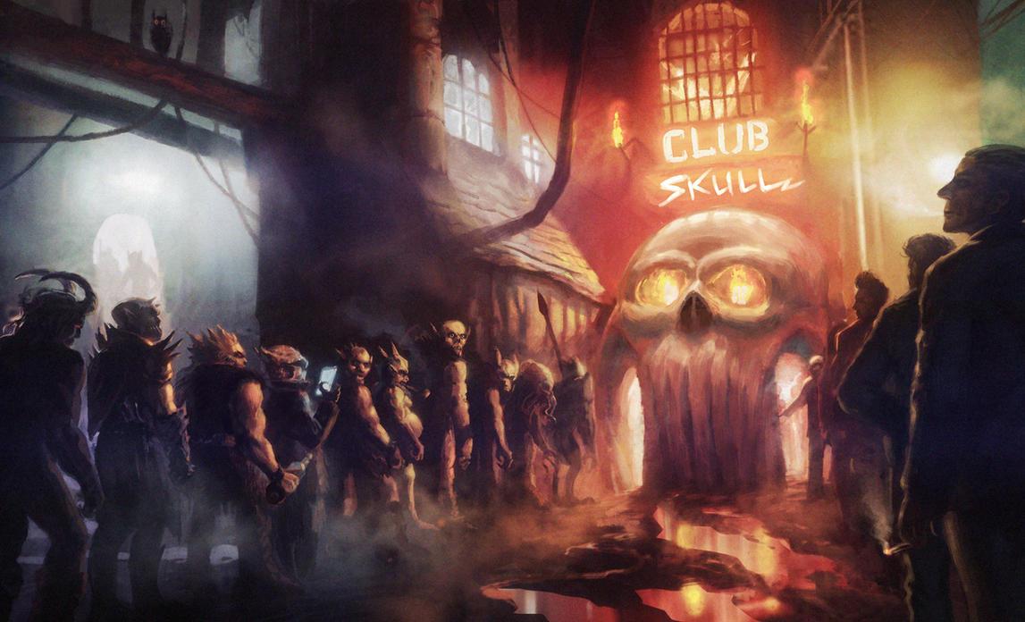 Club Skull by moonxels