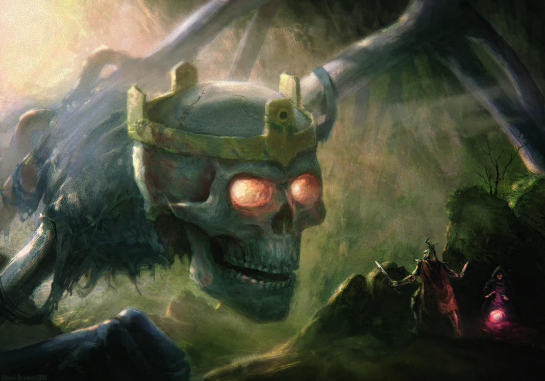 The UNDEAD KING by moonxels