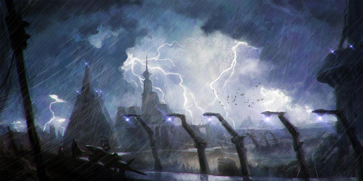 Stormrace by moonxels
