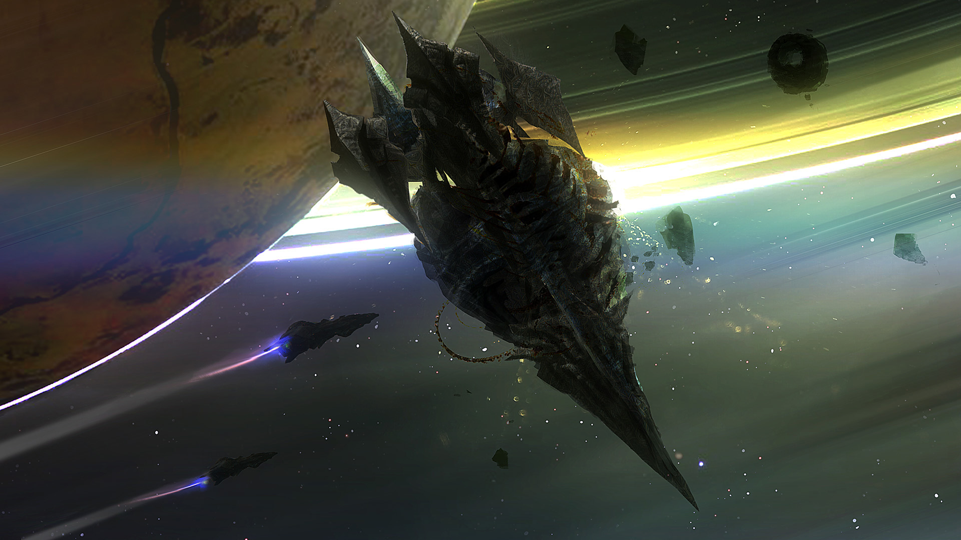 Alien artefact by moonxels