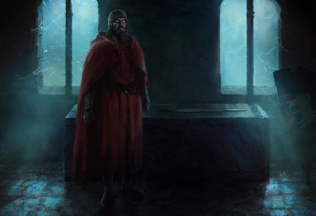Gangrel Knight by moonxels