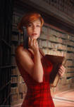 Fatal Redhead by moonxels