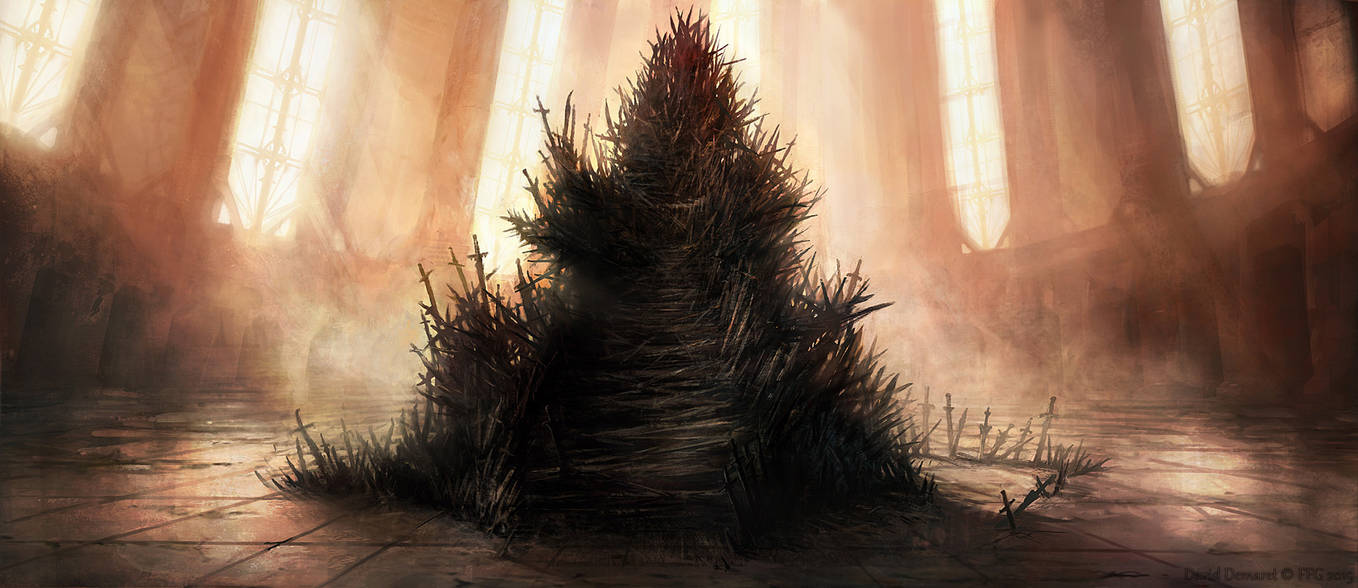 Heir to the IronThrone by moonxels