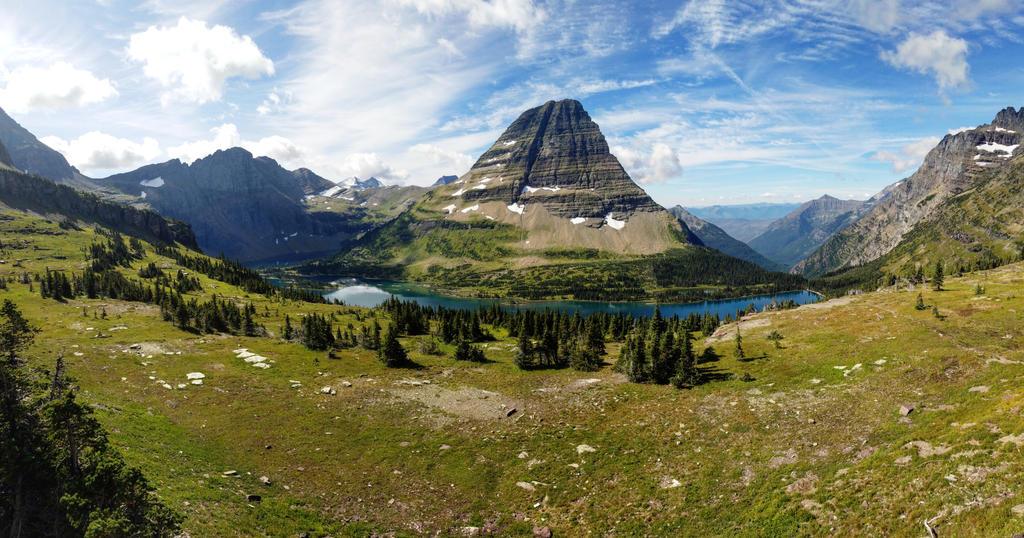 Montana Mountain by iamschramm