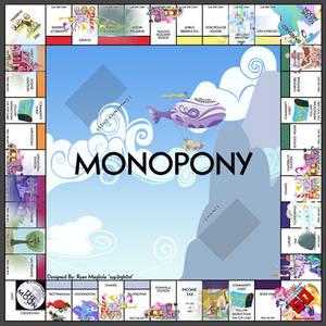 Monopony - A My Little Pony Themed Monopoly Board