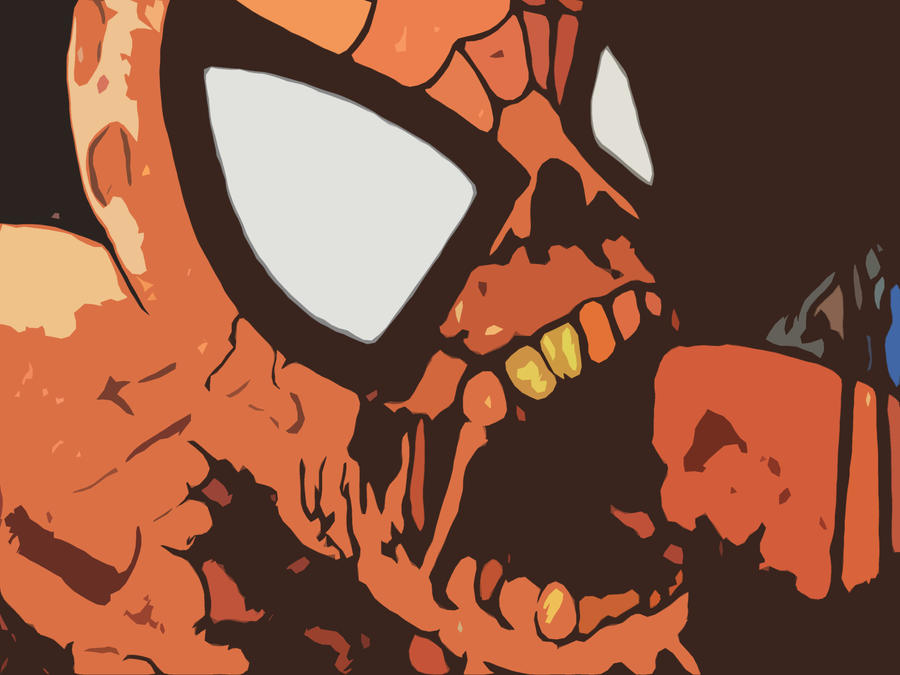 Zombie Spiderman by