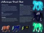Hallucinogen Horse Breed Sheet