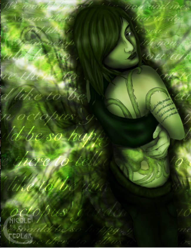 In An Octopus Garden With You By Kwehcat On Deviantart