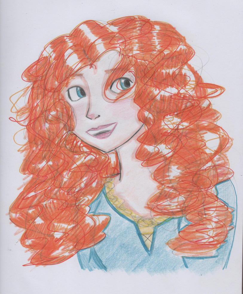 .:Brave Merida:. by Miss-Valerie