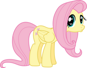 Poutyface Fluttershy [Animated]