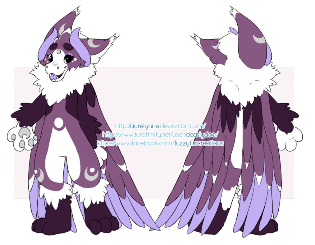New angel dragon ref! by SHIROHO