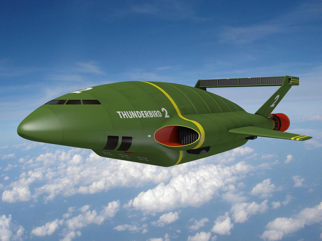 Thunderbird 2 by IDW01