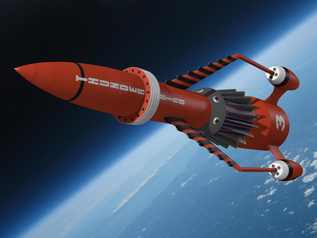 Thunderbird 3 by IDW01