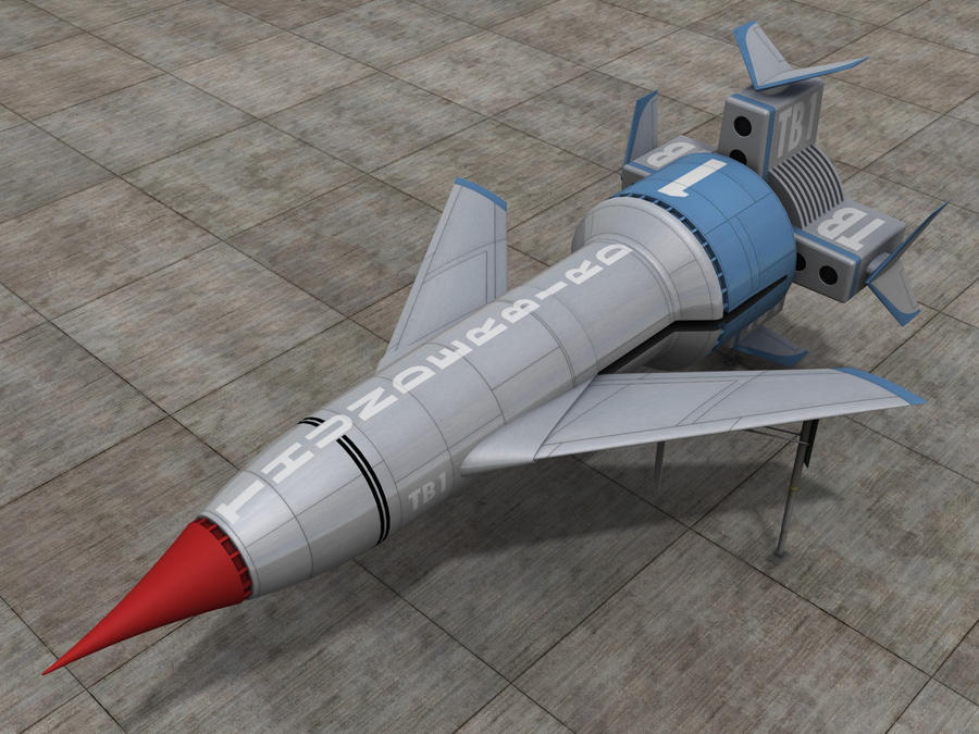 Thunderbird 1 by IDW01