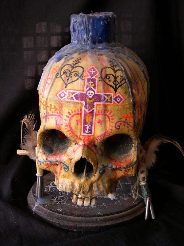 Voodoo Skull by SaintAlbans