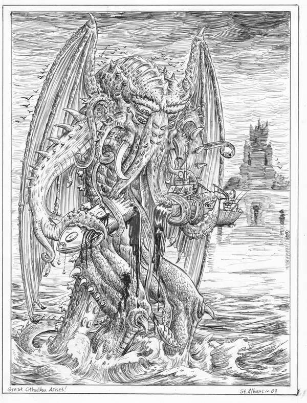 Cthulhu Arises by SaintAlbans