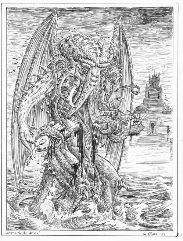 Cthulhu Arises by SaintAlbans