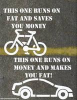 This runs on fat. by SaintAlbans