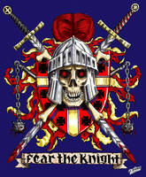 Fear the Knight Color by SaintAlbans