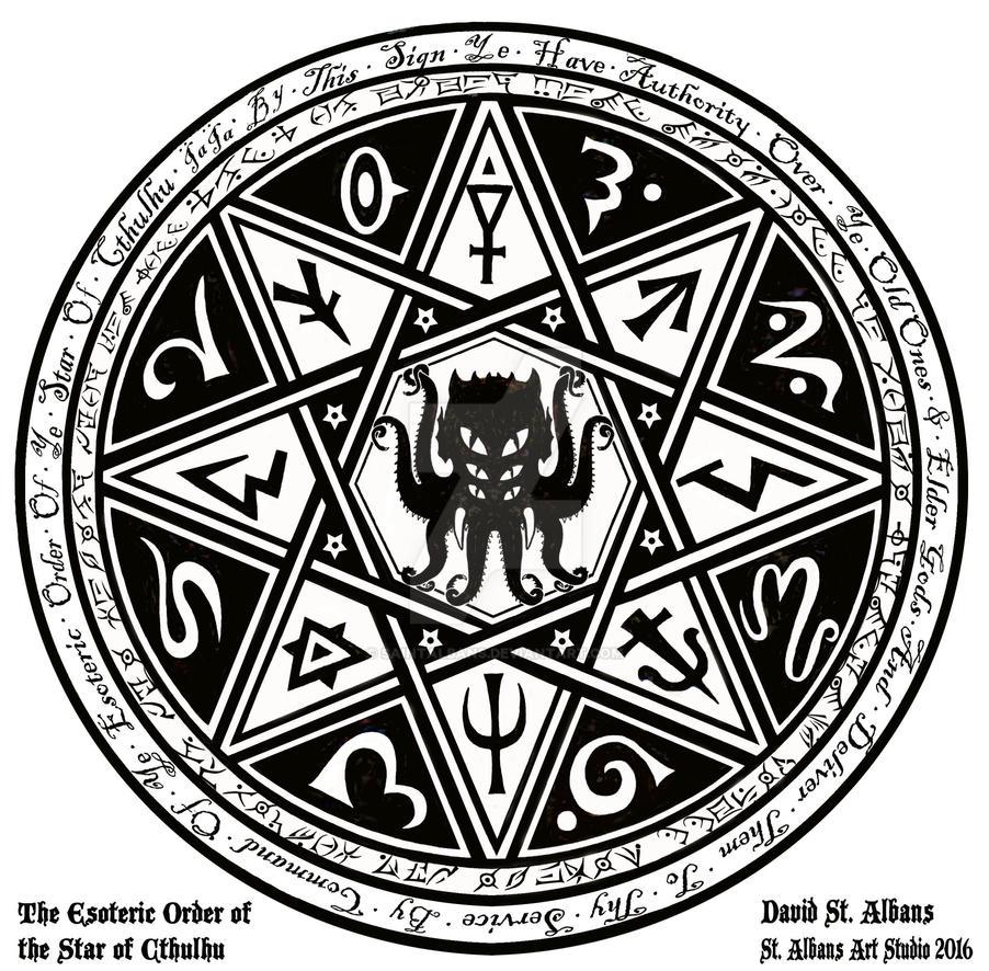 Cthulhu Star K by SaintAlbans