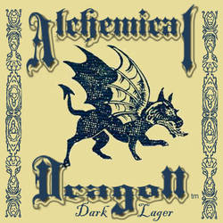 Alchemical Dragon Dark Lager by SaintAlbans