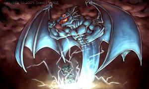 BLUE DRAGON by Dokiestudioz