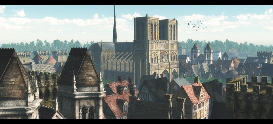 the cathedral by binouse49