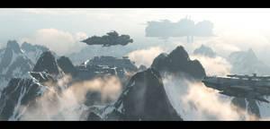 mountain base by binouse49