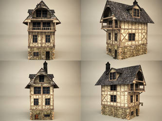 medieval house 2 by binouse49